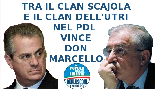 Tra Scajola e Dell'Utri ha vinto don Marcello